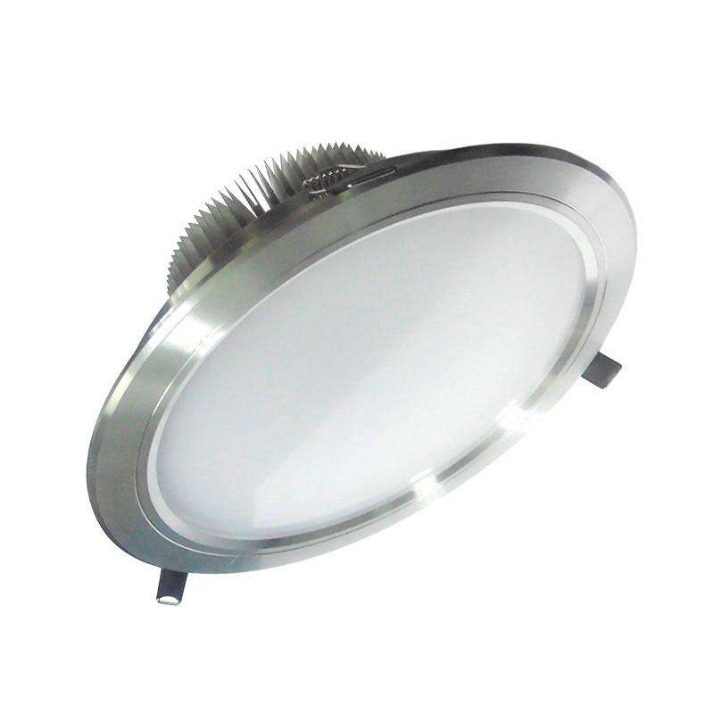 Downlight Led ARKAL 18W silver, Blanco cálido